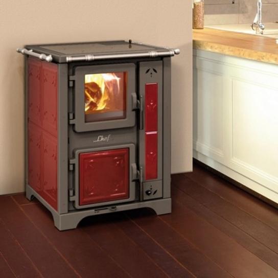 cuisini res fonctionnant bois b che de la marque thermorossi. Black Bedroom Furniture Sets. Home Design Ideas