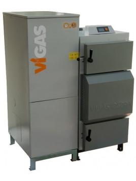 Chaudière mixte bois pellet Vigas 26 kW