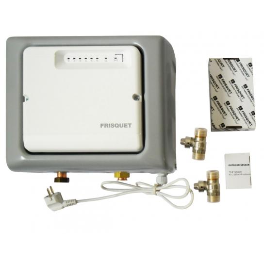 module h visio pour chaudi re frisquet avec thermostat d. Black Bedroom Furniture Sets. Home Design Ideas