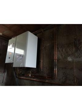 Installation chaudière Frisquet Hydromotrix Condensation Visio 25 kw