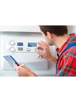 Forfait Installation chaudière gaz au sol chauffage et/ou ECS, condensation, cheminée SUR DEVIS