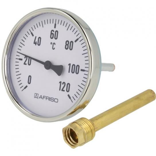Thermomètre avec doigt de gant pour ballon tampon