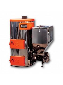 Modèle d'exposition chaudière à bois déchiqueté 25 kW