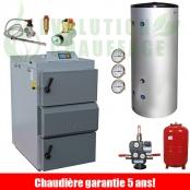 Kit chaudiere bois Vigas 40 kW ST