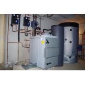 Installation chaudière bois Vigas 25 kW LC dans le Gard