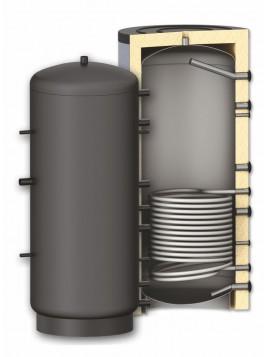 Ballon accumulateur chauffage avec simple échangeur