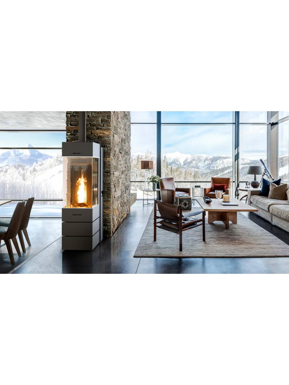 Salon Du Poele A Granule bellavista square: un poêle avec une vision panoramique de