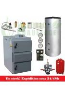 Kit chaudière bois Vigas Confort 40 kW