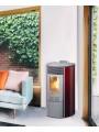 Poêle à pellet Redonda Glass TEPOR