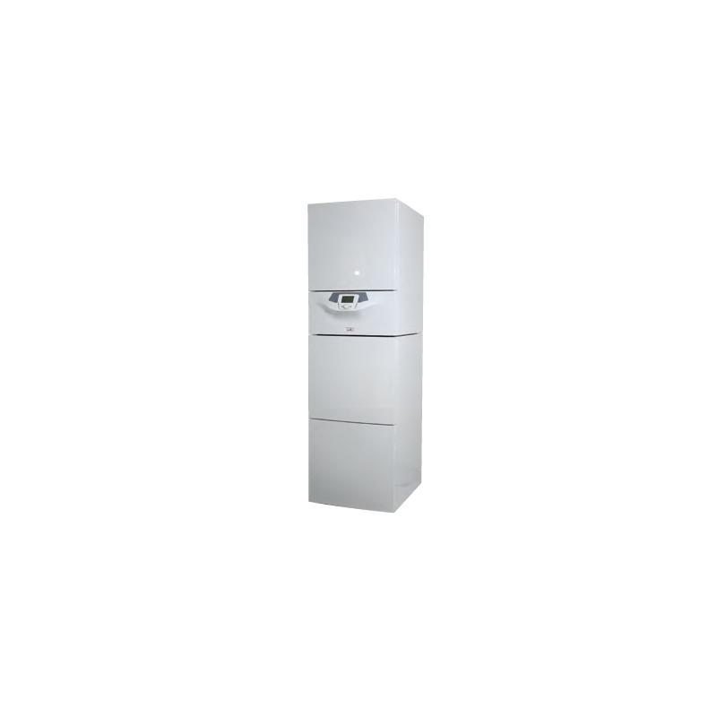 Chaudi re chapp e odia solar hte avec production d 39 eau en for Chaudiere gaz chauffage et eau chaude