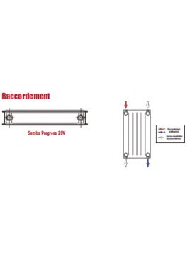 Radiateur Chappée SAMBA PROGRESS 20v