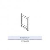 Cadre écarteur pour installation sur colonne montante Chaffoteaux NIAGARA C