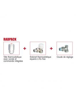 Pack accessoire robinetterie radiateur Chappée