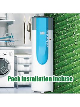 Pack installation + chauffe-eau thermodynamique Atlantic ODYSSÉE 2